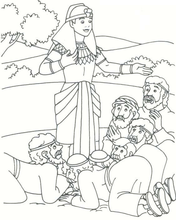 Joseph In Egypt Coloring Pages at GetDrawings.com | Free for ...