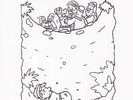 Joseph Sold Into Slavery Coloring Pages At Getdrawings Free Download