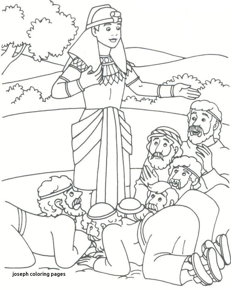 736x921 Jacob And Esau Coloring Pages Luxury Joseph Coloring Pages