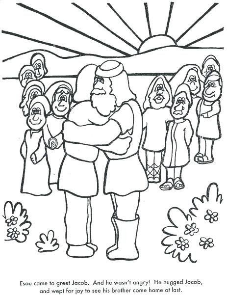 463x601 Joseph Coat Of Many Colors Coloring Page With And Coloring Sheets
