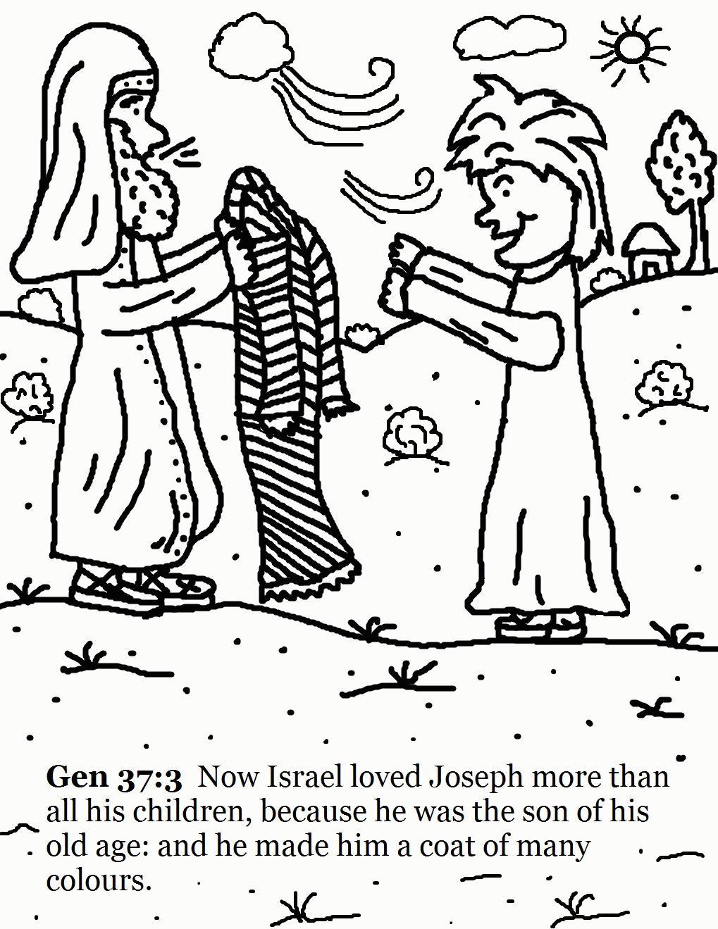 1019x1319 Joseph Coloring Pages