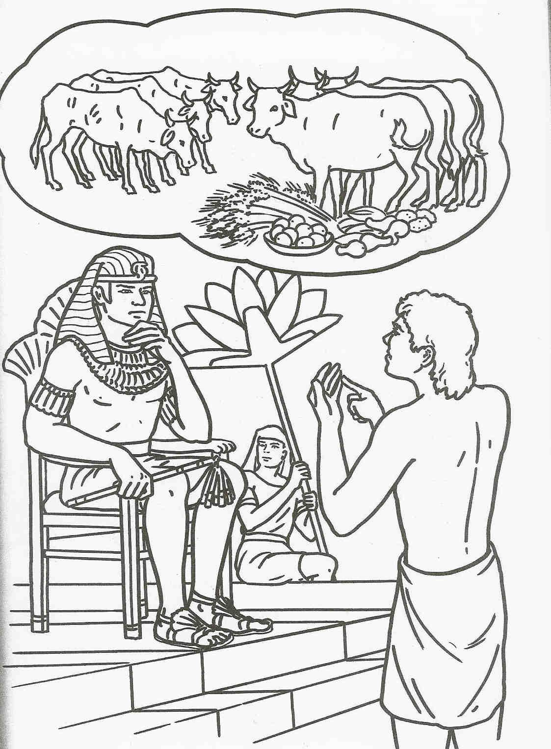 1123x1527 Joseph S Dreams Coloring Page Pages Within