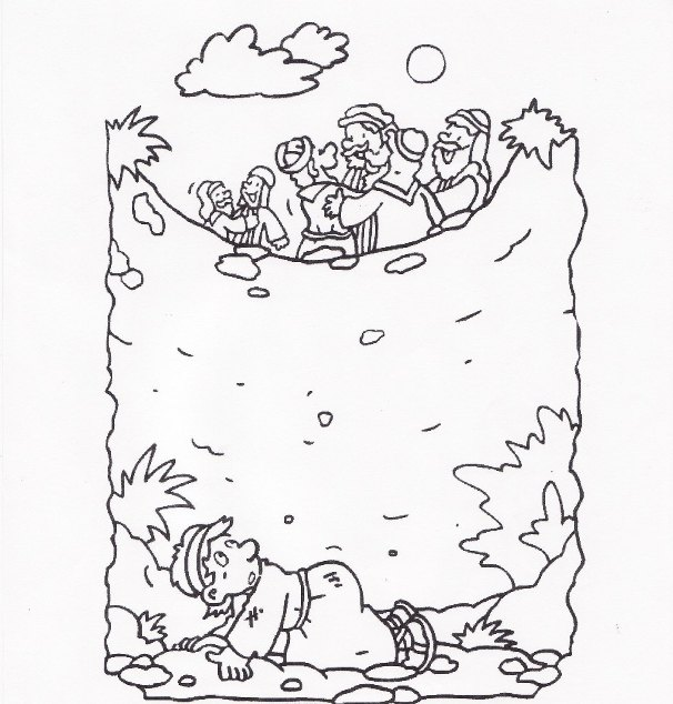 606x634 Joseph The Dreamer Coloring Pages, Shirt Or Jacket Outline
