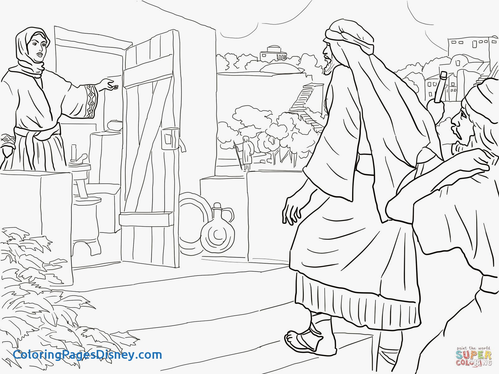 1600x1200 Joseph Son Of Jacob Coloring Pages Lovely New Room Built