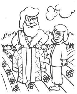 260x314 Old Testament Hebrew Jewish Bible Kids Coloring Pages Free