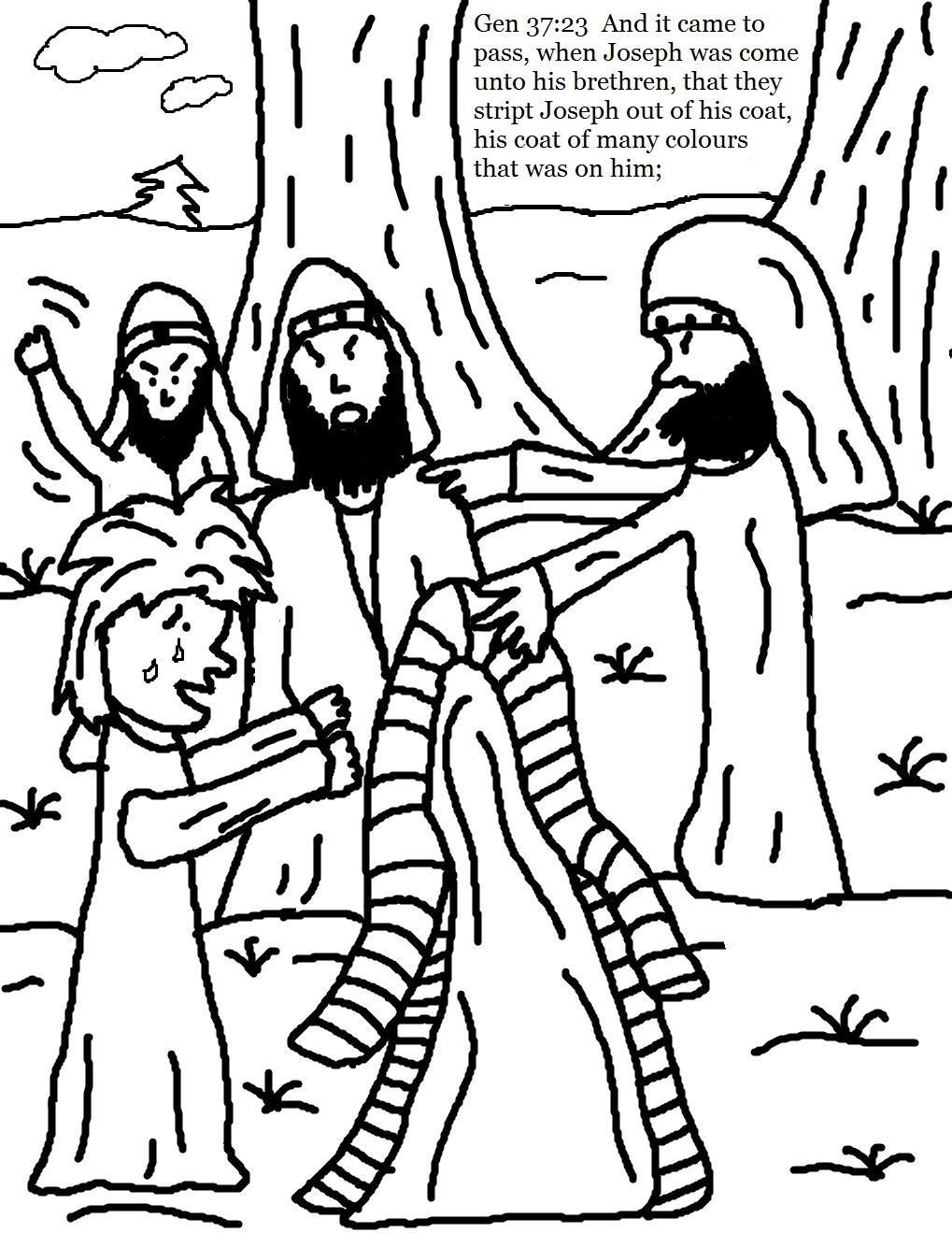 1019x1319 Portfolio Joseph And His Coat Of Many Colors Coloring Page