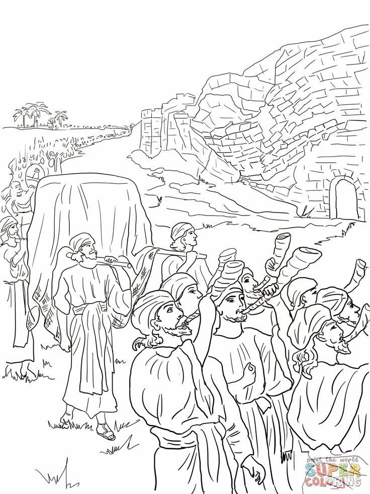 736x981 Best Joshua Images On Coloring Sheets, Free