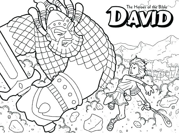 570x426 Battle Of Jericho Coloring Page
