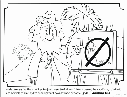 497x382 Joshua And The Battle Of Jericho Coloring Pages Pics Joshua Fought