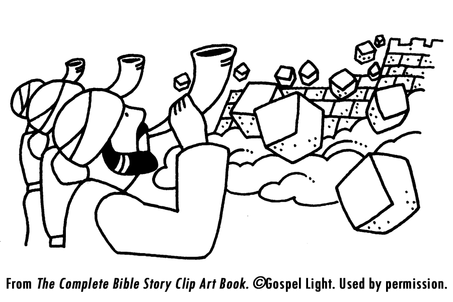 900x600 Joshua Fought The Battle Of Jericho Coloring Page Coloring