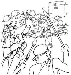 236x252 Coloring Page Jericho Uskonto Sunday School, Free