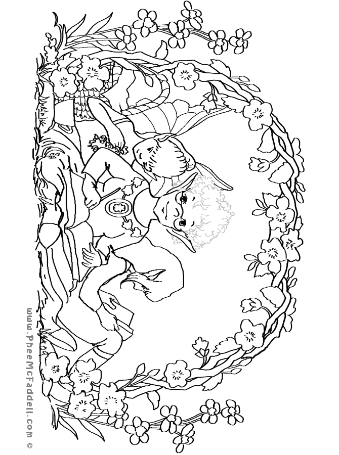 670x900 Phee's April Journal Coloring Page