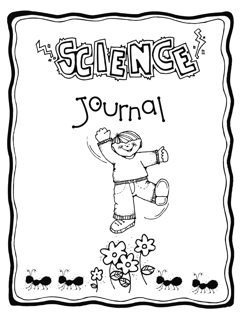 800x1035 Science Journal Coloring Pages