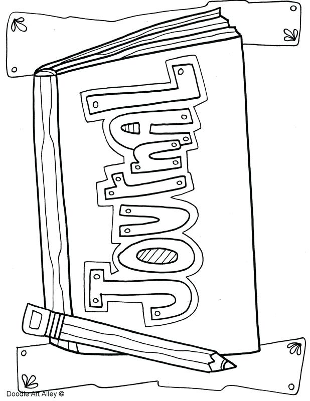 618x800 Coloring Journal Pages Lovely Journal With Coloring Pages