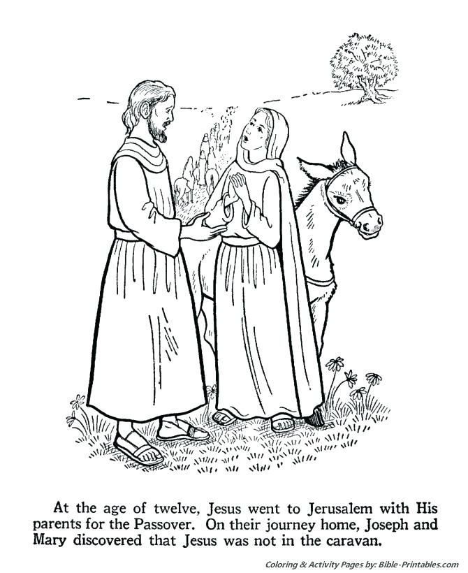 670x820 Remarkable Mary And Joseph Coloring Pages Outstanding Nativity