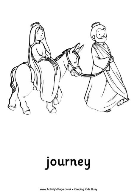 460x652 Journey To Bethlehem Colouring Page School Stuff!
