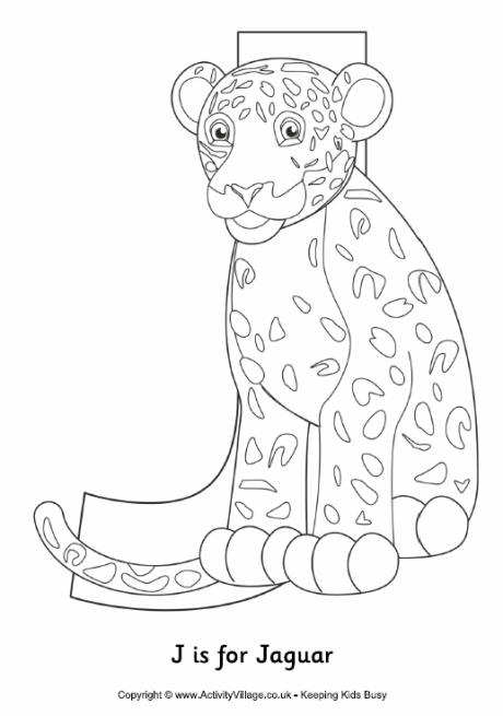 460x655 Letter J Colouring Pages
