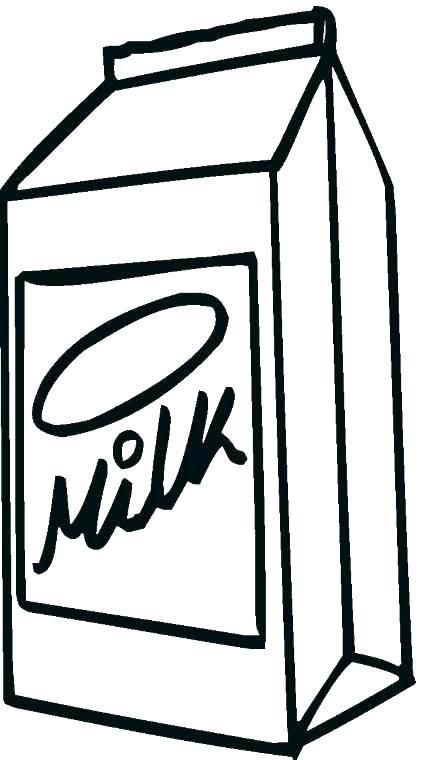 421x760 Milk Coloring Page Click To See Printable Version Of A Carton