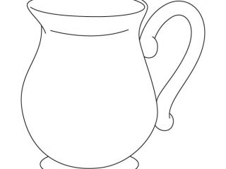 320x240 Pitcher Coloring Pages Jug Coloring Page Download Free Jug