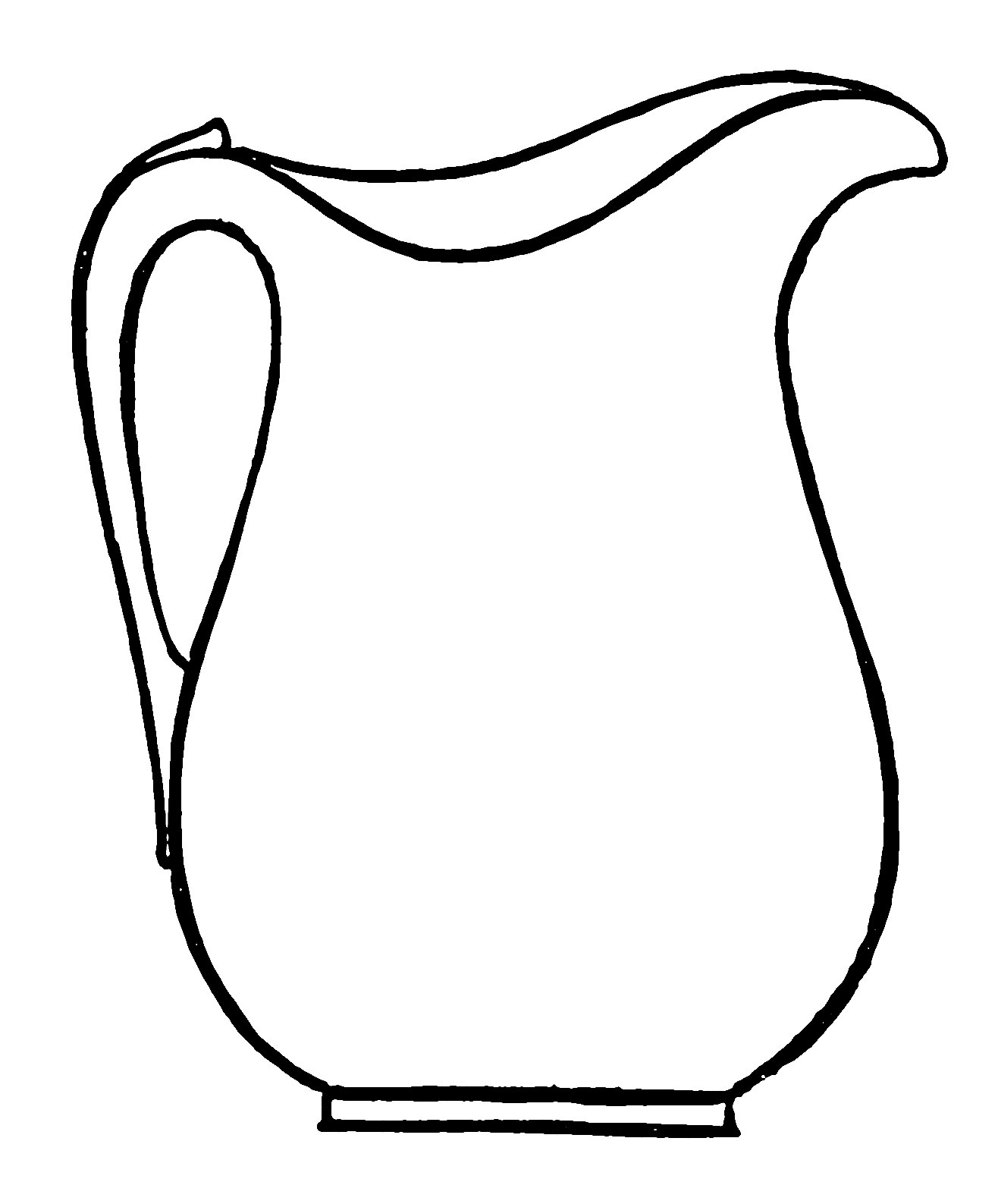 1316x1587 Water Pitcher Coloring Pages