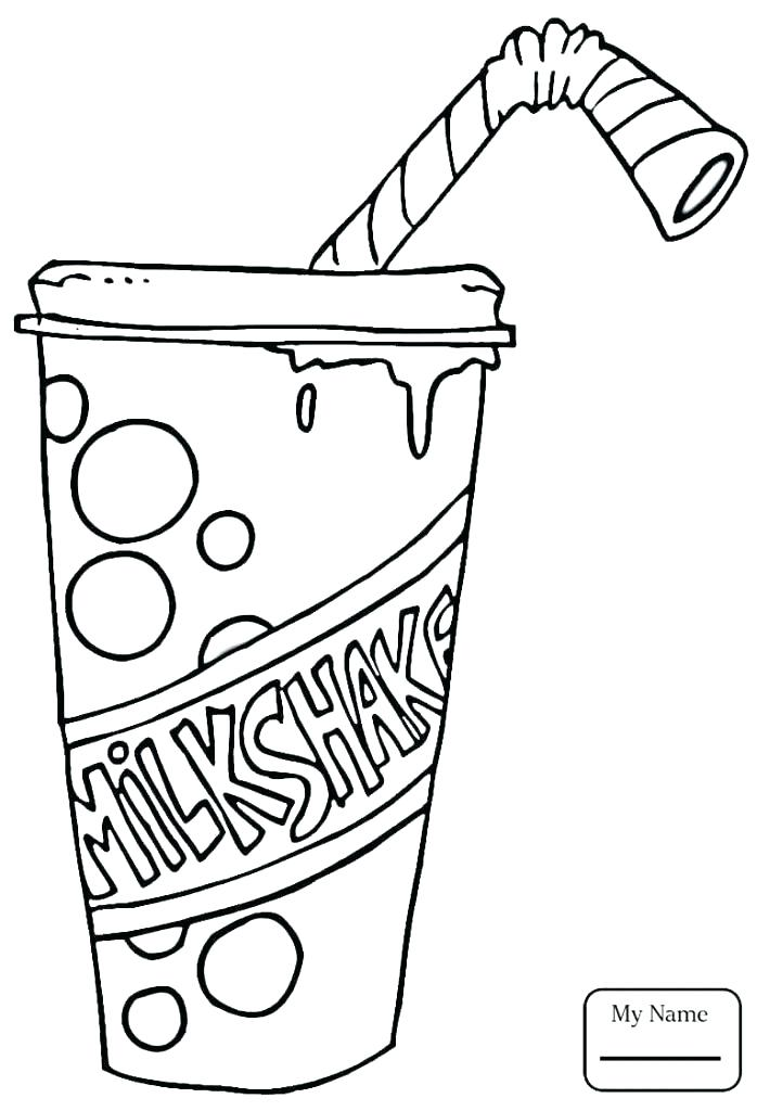 698x1024 Milk Coloring Page