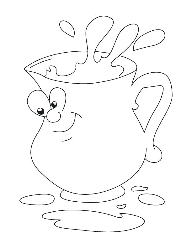 612x792 Lemonade Coloring Page Lemonade Coloring Page Emotions Coloring