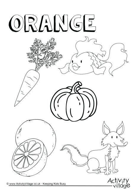 The best free Orange coloring page images. Download from 148 ...
