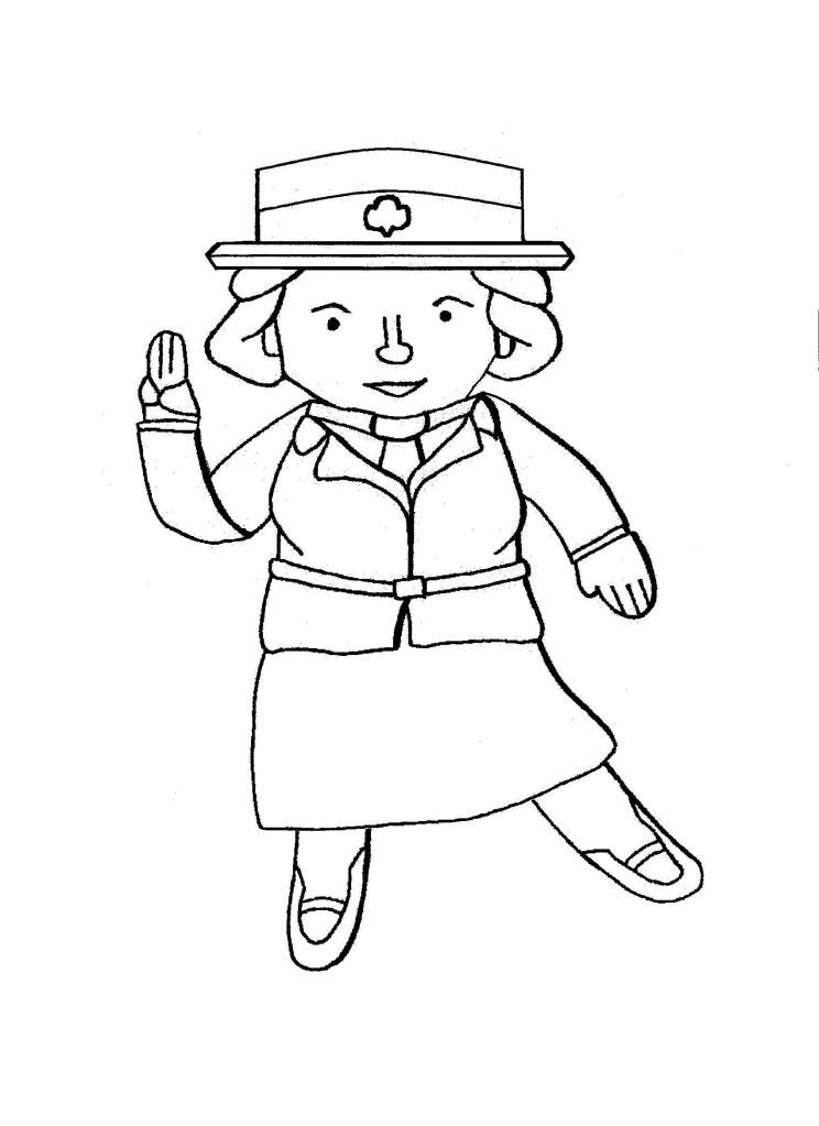 Juliette Gordon Low Coloring Pages