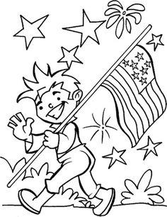 236x306 Of July Coloring Page