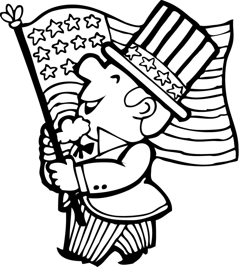 820x917 Of July Coloring Sheets Of July Coloring Pages Coloring