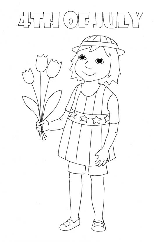 539x831 Coloring Pages For Independence Day