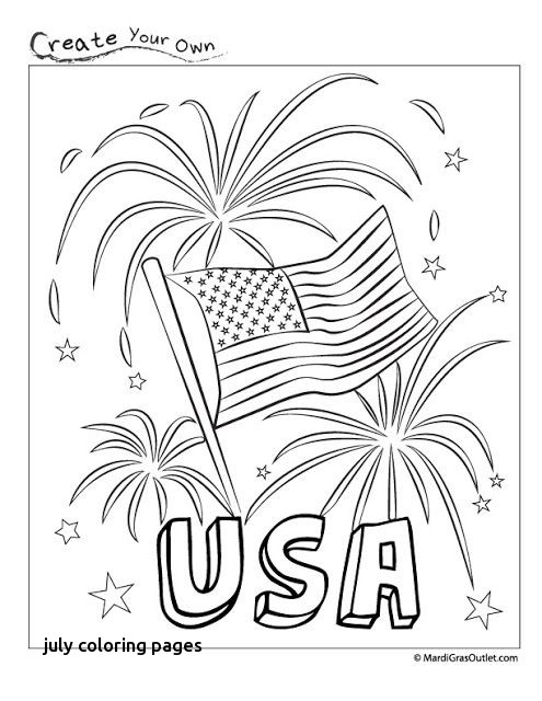 495x640 July Coloring Pages