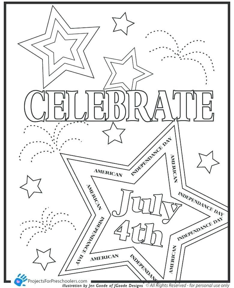 780x960 July Coloring Pages Competitive Fourth Of Coloring Pages To Print