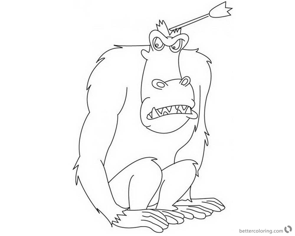 Jumanji Coloring Pages At Getdrawings Com Free For