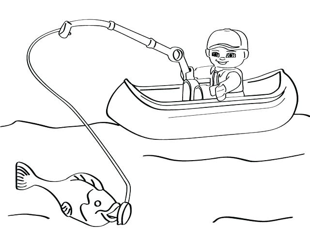 640x494 Fish Coloring Page Jumping Fish Coloring Pages This Is Best Bass