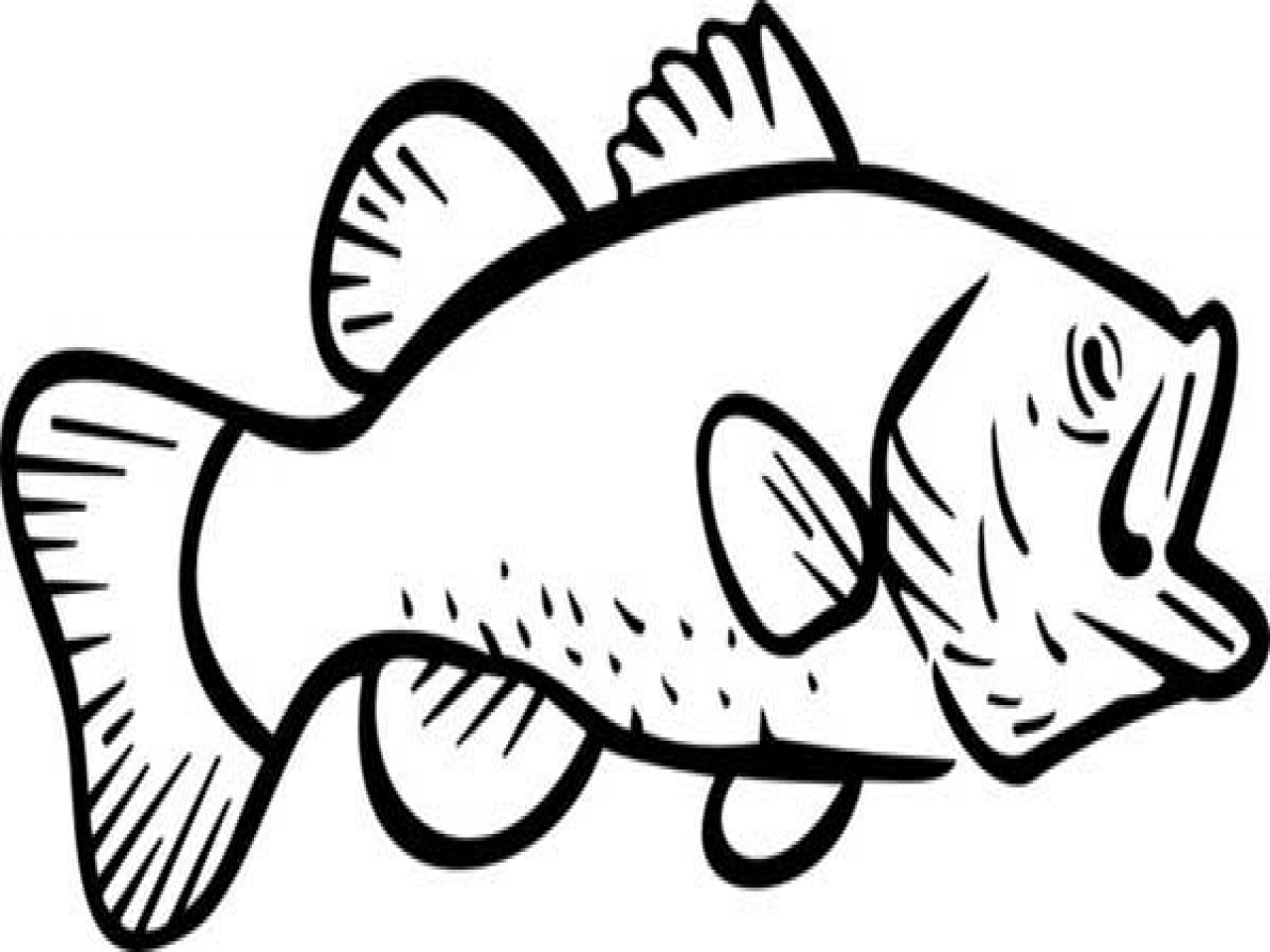 1280x960 Best Of Fish Page To Color Gallery Printable Coloring Sheet