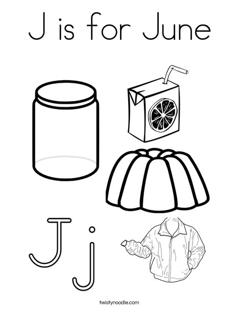 June Coloring Pages At Getdrawings Com Free For Personal Use June