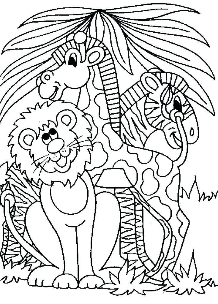734x1024 Safari Coloring Page Safari Coloring Pages Animals Page Safari