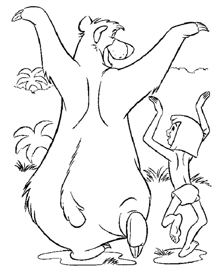 700x900 Jungle Book Coloring Pages