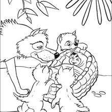 220x220 The Jungle Book Coloring Pages