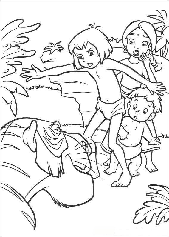 567x794 The Jungle Book Coloring Page