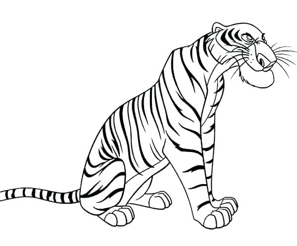 600x497 Daniel Tiger Coloring Pages Tiger Coloring Book Pages Khan Jungle