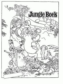 220x293 Disney's Jungle Book Free Printables, Activities, Coloring Pages