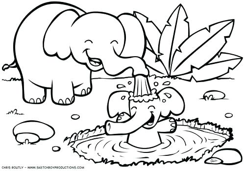 500x350 Free Printable Animal Coloring Pages For Adults Free Coloring