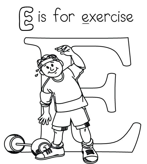 612x680 Fitness Coloring Pages,wallpapers,pictures Coloring Page