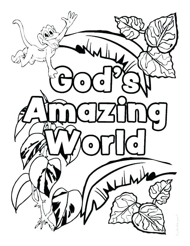 Jungle Printable Coloring Pages