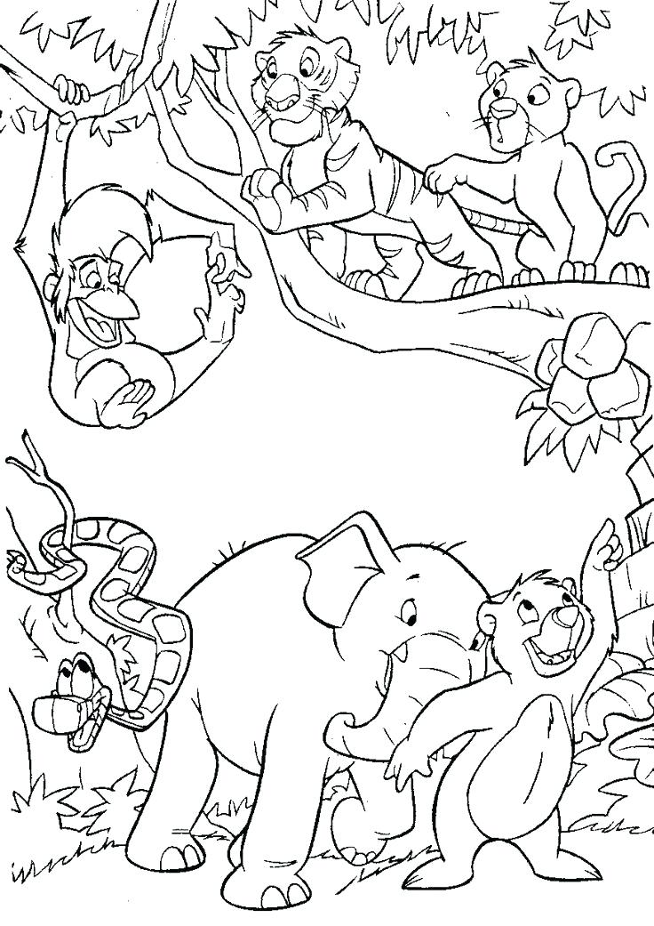 736x1041 Jungle Coloring Page Jungle Printable Coloring Pages Coloring