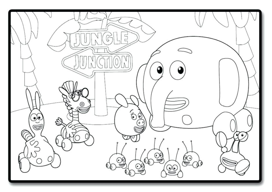 940x664 Jungle Coloring Pages Photos Jungle Junction Coloring Pages