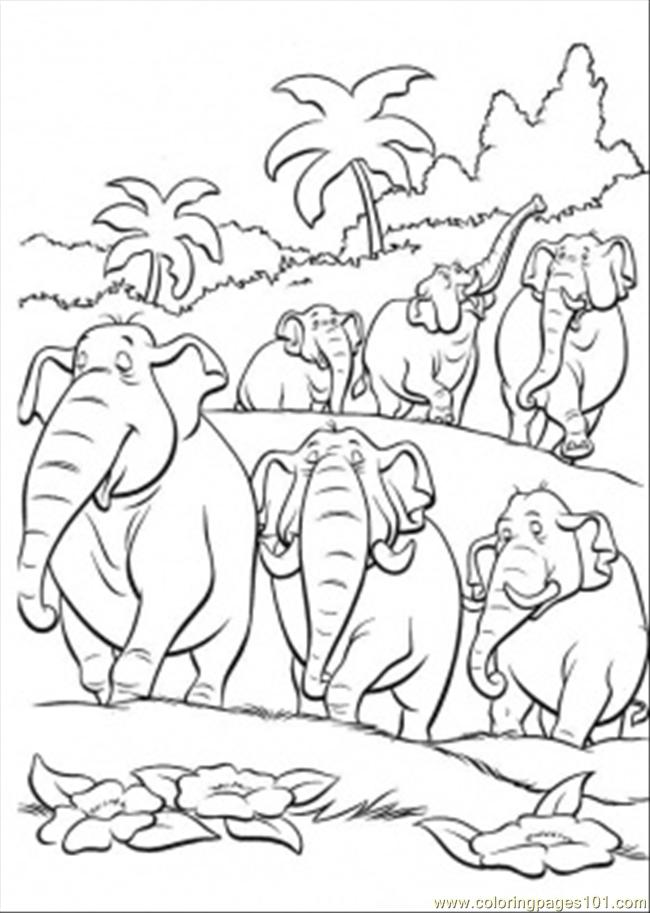 Jungle Scene Coloring Pages at GetDrawings | Free download