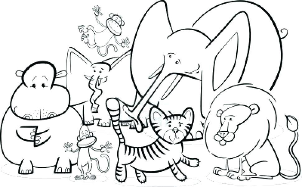 970x599 Jungle Coloring Sheets Printable Jungle Themed Coloring Sheets